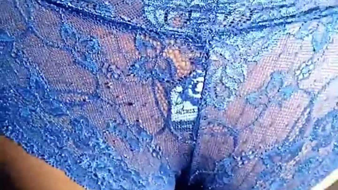Big blue ass sloppy dick