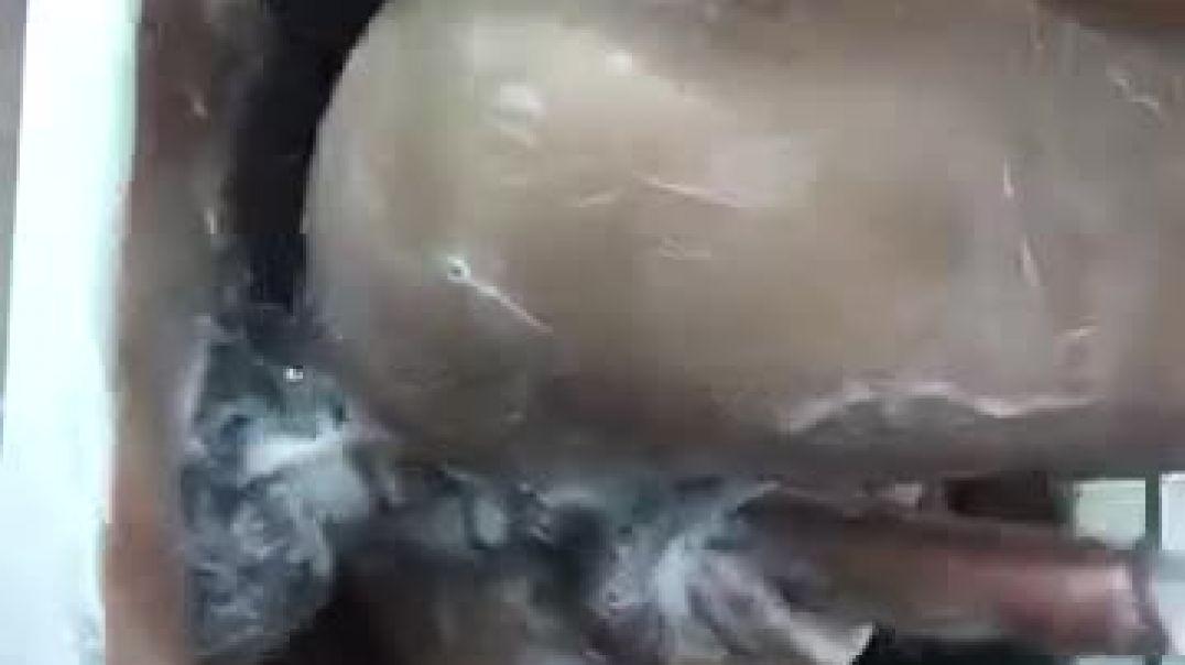 Wet anal sex