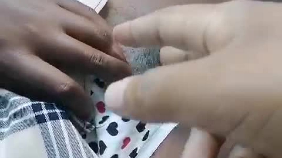 Fingering student on the way home